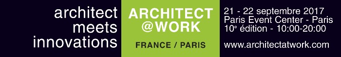 The Ducerf Group on show at Architect@Work Paris!