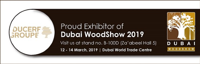 Joins us at the Dubaï WoodShow