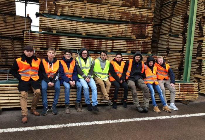 The Compagnons du Devoir choose Ducerf to discover the world of the sawmill