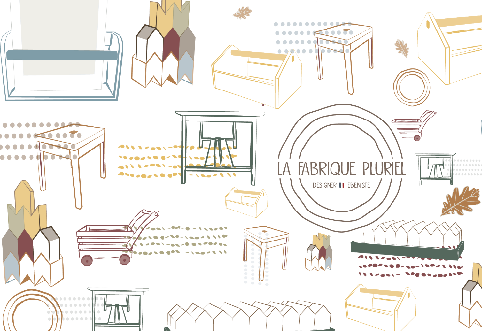 Fabrique Pluriel, a young artisanal company that has chosen quality with Ducerf wood!
