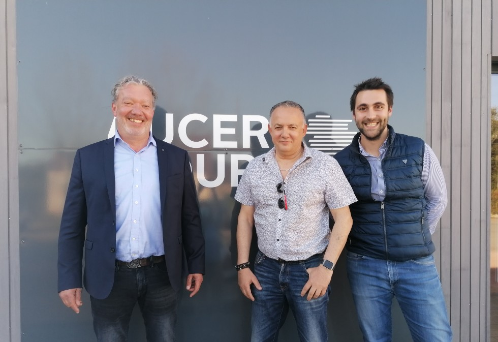 The Sales Division France at Ducerf – a highly committed, close-knit team